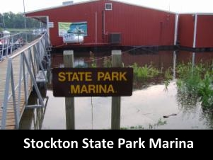 Stockton Lake Water Temperature from Stockton State Park Marina
